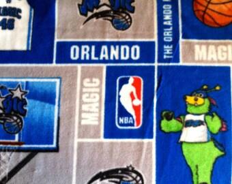Orlando Magic Basketball Fleece Sports Baby Blanket