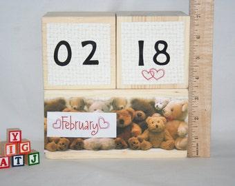 Unfinished Date Blocks, Month Blocks, Large Blocks, Big Blocks, Dice, Yahtzee Dice, DIY Yahtzee Dice, Baby Blocks, Baby Shower Blocks