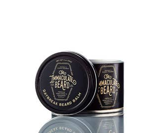 Beard Balm DAYBREAK, All Natural, beard oil, spearmint, eucaluptus, lavender, clary sage, essential oil, Immaculate, Beard Care, Father gift