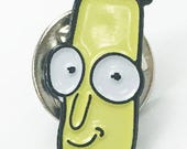 Mr. Poopy Butthole Enamel Lapel Pin