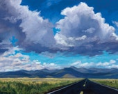 Almost Home - The Road to Philmont - New Mexico  - Limited Edition Fine Art Landscape Print