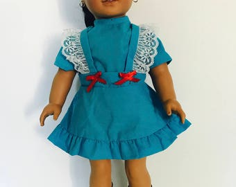 American girl, 18 inch doll dress.