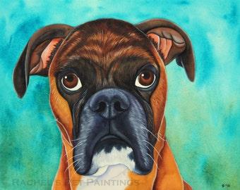 12 X 16 Painting, Watercolor Pet Memorial Art, Custom Dog Portrait, Personalized Pet Art, Custom Pet Portrait, Colorful Pet Painting