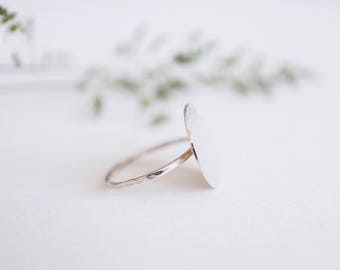 The 'full moon' ring