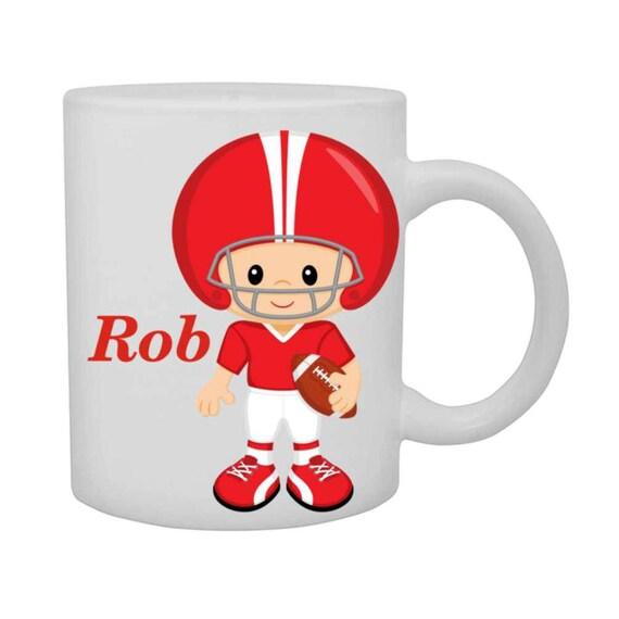boys football cup, boys football mug, personalized boys cup, customized boys mug, boys mug, boys birthday gift,