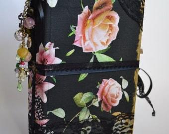 Rose Journal, Junk Journal, Feminine Journal