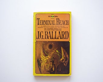 Terminal Beach by J.G. Ballard - Vintage Paperback - 1964 Berkley Medallion Books