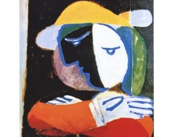 Pablo Picasso-Femme au Balcon-1997 Poster