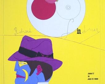 Richard Lindner-University Art Museum-1969 Serigraph