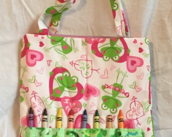 I love Frogs Activity Tote