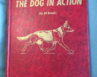 1963 The Dog In Action hardback book