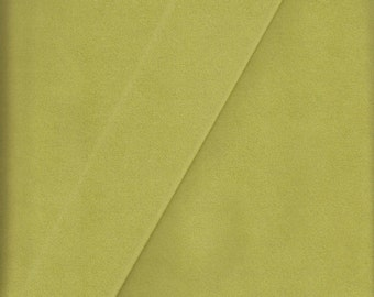 Toray Upholstery Fabric Ambiance Ultrasuede Lime Green 1.25 yds 4488 (BP5)
