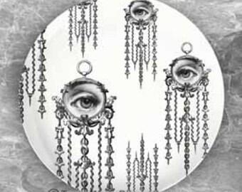 Watch III Cavalieri melamine plate