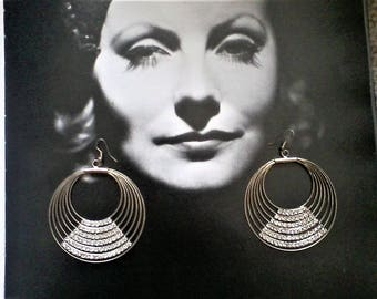 Big and Beautiful Bling Earrings