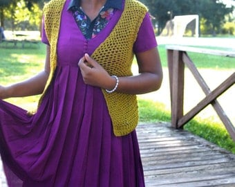 The Lagom Vest Crochet Pattern. Instant Download!