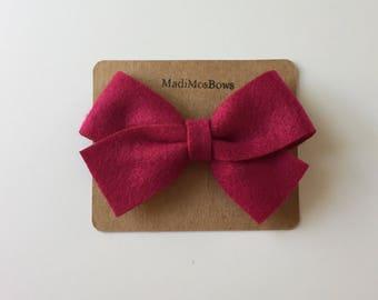 NEW 3.5 Felt Bows hair accessories bows