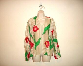 Vintage 1970s Floral Tunic
