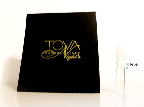 Vintage 1990s Tova Nights by Tova Eau de Parfum Sample Vial on