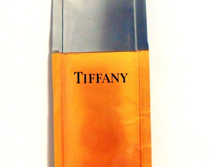 Vintage 1980s Tiffany by Tiffany & Co 0.24 oz Perfumed Bath and Shower Gel Sample Packet