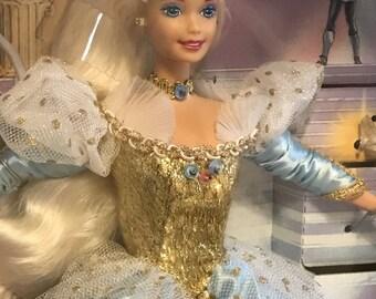 Mattel Cinderella Barbie Doll, (BR)