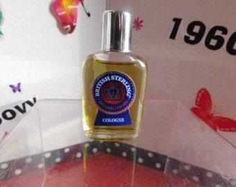 Vintage MINI British Sterling Cologne For Men