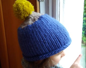 100% wool hat for kids
