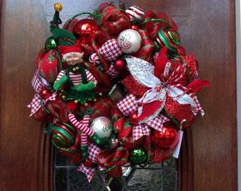 Whimsical Elf Wreath