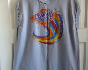 Vintage 80s OSMOND BROTHERS Muscle Shirt sz L
