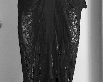 Hand Shredded Dress