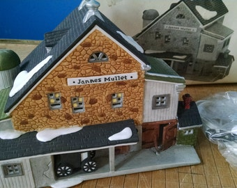 Dept 56  Heritage Village Collection/ New England Village Series / Jannes Mullet Amish Barn