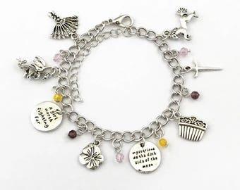 Mulan inspired charm bracelet