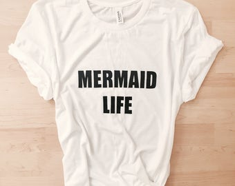 Mermaid Life Boyfriend Tee