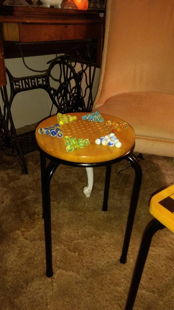 Chinese checker game table.