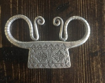 HT-182 Thai Hill Tribe Fine Silver Spirit Lock