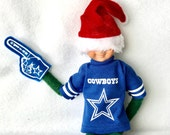 Dallas Cowboys T-shirt for Elf Fan or Ken Doll
