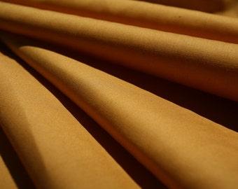 "Tan Cotton Stretch Poplin Fabric 54"" Wide Per Yard"