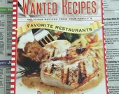 America's Most Wanted Recipes Family Fave Restaurant Cookbook