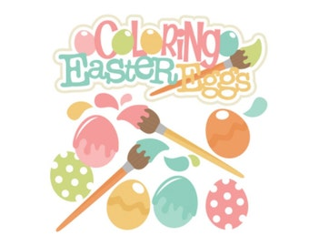 Scrapbook, Scrapbooking, Easter die cuts, Die cuts, scrapbook die cuts, scrapbooking die cuts, Easter, Scrapbook supplies, Easter card