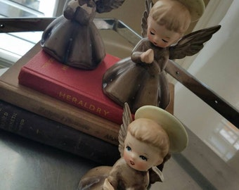 Napcoware R3258 Angels set of 2,  Vintage, Made in Japan