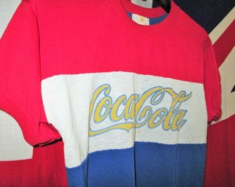 Vintage Original Coca Cola 1970s T-Shirt Rare