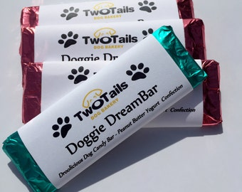 Gourmet Dog Treats - Peanut Butter Candy Bars