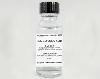 Glycolic Acid Peel 35% Solution Kit, Anti Aging, Wrinkles,Sun Spots