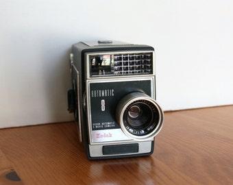 Kodak Automatic 8 Movie Camera - 8MM Movie Camera - Vintage Camera  with Case - Retro Camera - Home Decor - Modern Wedding Decor