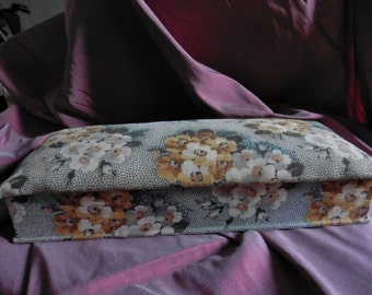 French Vintage, Boudoir  Box , Fabric Covered Box , French Boxes , Flowers,  Fabric Boxes, Shabby Chic,   Paris Boudoir Printemps Paris