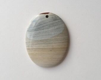 Succor Creek jasper pendant stone