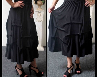 New Lagenlook Plus size skirt and Regular size skirt,  Addition to our Travel Line.
