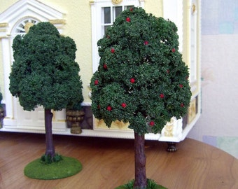 Miniature Tree  for your Dollhouse. Miniature Tree . Decorative plant. 1:12 Scale