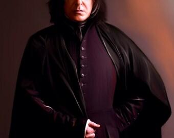 Always Snape Art Print
