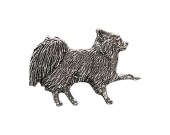 Full Body Long Haired Chihuahua ~ Refrigerator Magnet ~ D350FM,DC350FM,DP350AFM,DP350BFM