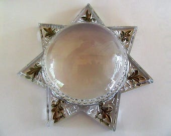 Star glass paper weight Fantastic condition
